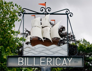 Billericay Mayflower Sign